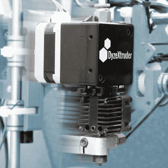 DyzeXtruder fast print