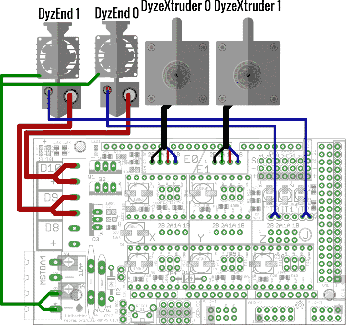 electronic boards dyze design ramps wiring scheme