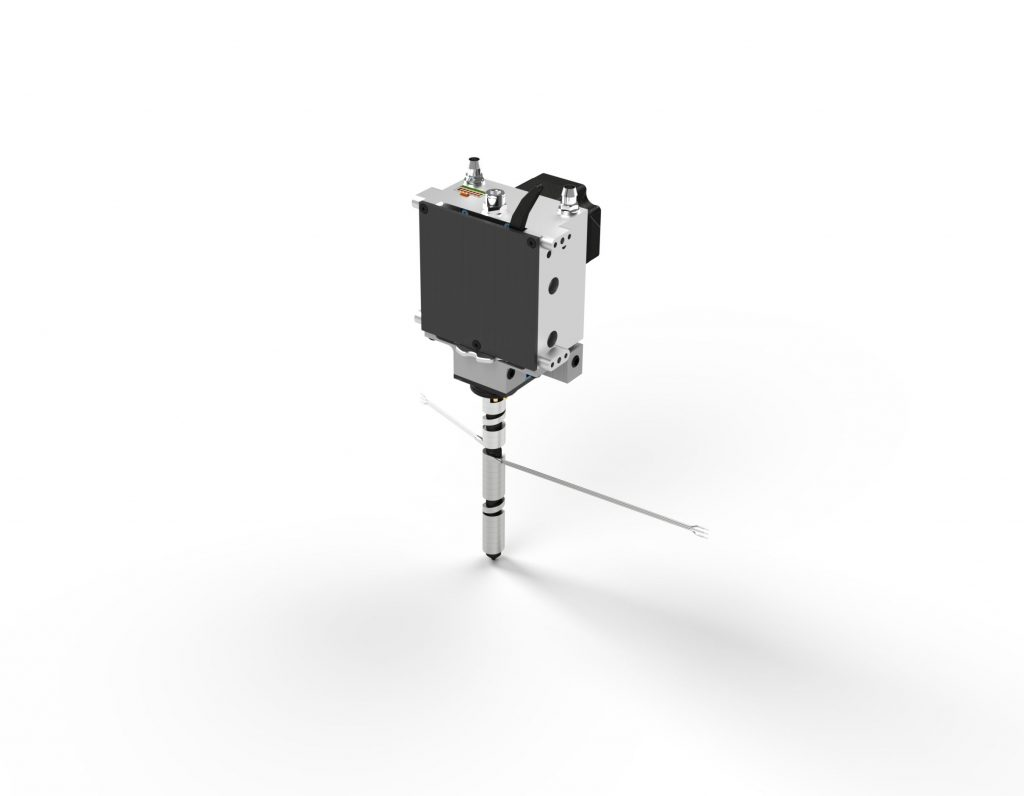 3D render of the Typhoon extruder