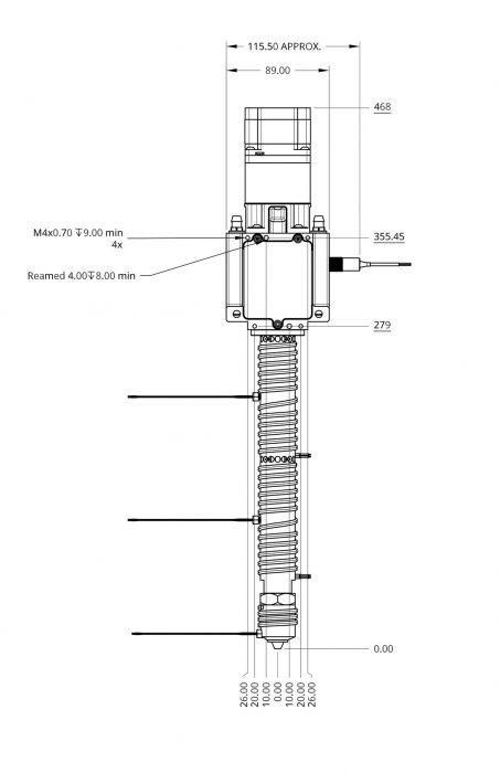 Pulsar CAD Drawing