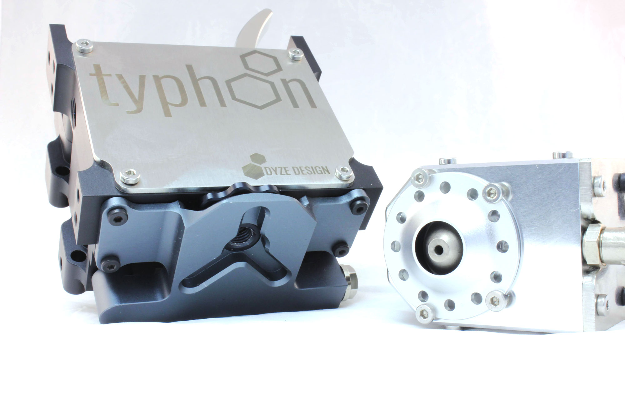 Typhoon extruder Full Metal Body