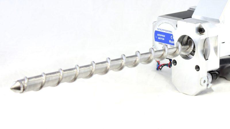 Pulsar™ Pellet Extruder Custom Extrusion Screw